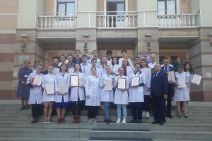 Студенты РязГМУ - победители Всероссийской олимпиады «Биохимик-2019»